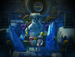Dead King Angler on his throne