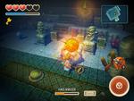 Hero hits Dead King Angler's golden sphere