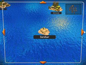 Sandbar on the World Map.