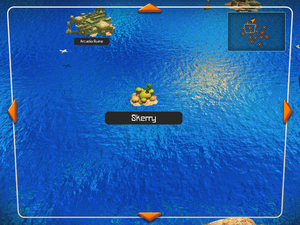 Skerry on the World Map.