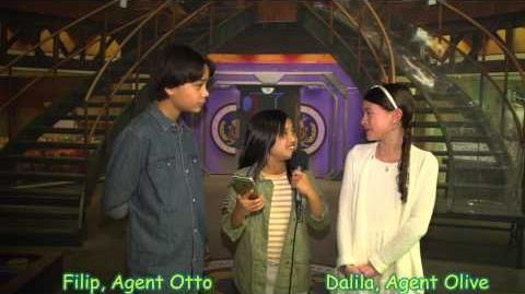 PBS Kids Odd Squad Cast Interview with La JaJa kids Junior Journalist