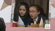 Oona and Olympia in ice cream truck - ninja situation