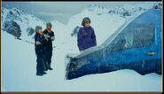 The Van is Frozen Ice