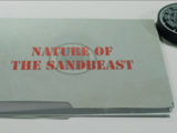 Nature of the Sandbeast