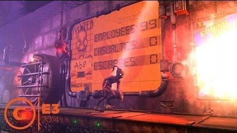 Oddworld New 'n' Tasty Intro Gameplay - E3 2014