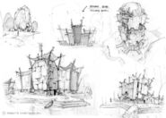 Grubb Village Concept Art 6