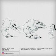Frogger size comparison