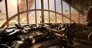 Inside Blimp