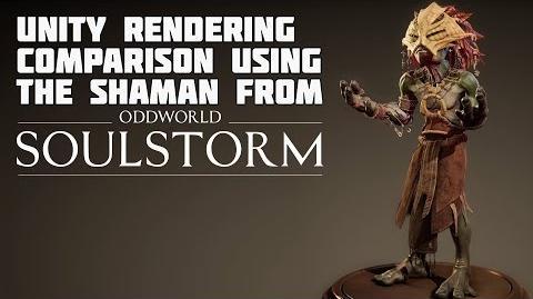 Soulstorm - Shaman rendering comparison