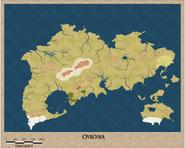 Mapa de Ovrônia