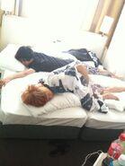 Ryo Shokupanmen on bed