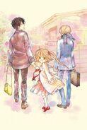 Yaichi, Hina and Tougo