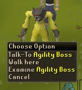 Agility boss
