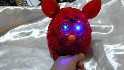 Demo of a Phoebe with LED eyes by Pepis chile on YouTube