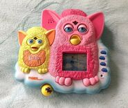 Furby game hand held