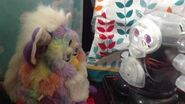 Furby and Robonagi (furby fake) interact!