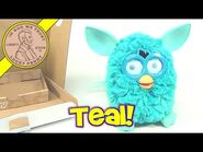 2012 Teal Furby - Unboxing Our New Furby!