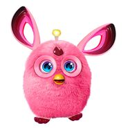 A pink Furby Connect
