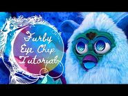 Furby Eye Chip Tutorial - How to Remove & Install Custom Eyes on 1998 Furbys