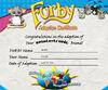 Furby Cert
