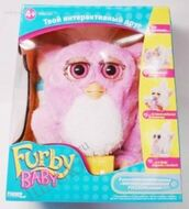 Furby baby in box