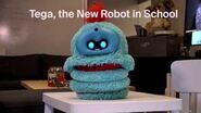 Tega, the new robot in school
