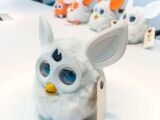 White Connect Furby Prototype