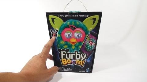 Furby Boom Peacock, 2013 Hasbro Toys - A New Generation Is Hatching!