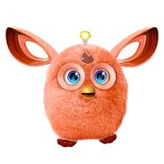 A orange Furby Connect