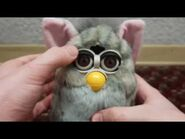 Fresh New Look Furby • Midnight Wolf - Furby 1998