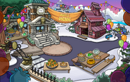 Puffle Party 2020 Mine Shack