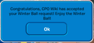 Winter Ball 2019 Accepted