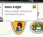 Noble Knight stamp SB