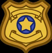 Batman Party Badge emoticon