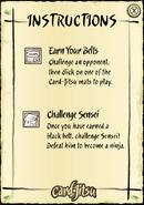 Card-jitsu instructions