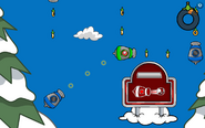 Puffle Launch Blue Sky Gameplay