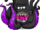 Purple Space Squid Costume
