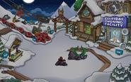 Batman Party Ski Village