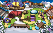 Puffle Party 2020 Ice Rink