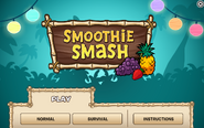 Smoothie Smash Menu