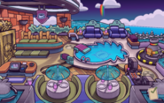 Hollywood Party Puffle Hotel Roof