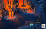 Operation Puffle Lava Cliffs