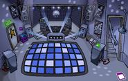 Night Club rave Blue
