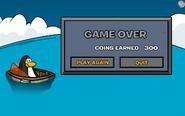 Aqua Grabber Game Over