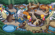 Puffle Party 2016 Snow Forts