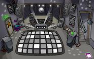 Night Club rave Black