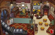 Batman Party Book Room