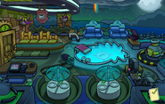 Halloween Party 2019 Puffle Hotel Roof