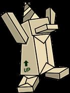 Box Dimension Cardboard Statue