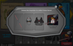 Ultimate Star Wars Takeover Party Interface Challenge The Inquisitor